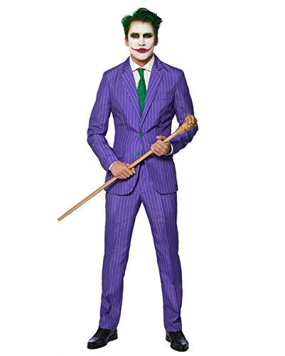 Horror-Shop The Joker Anzug - Suitmeister Original Lizenziertes Joker Kostüm XXL