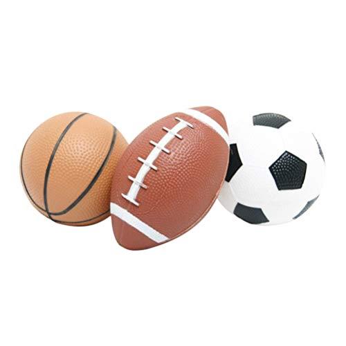 YeahiBaby Mini Pelota Baloncesto Inflable Fútbol