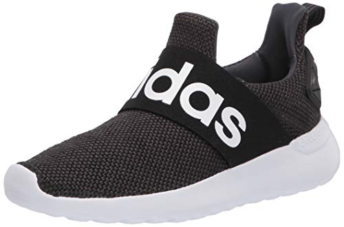 adidas Unisex LITE Racer Adapt K Sneaker, core Black/Grey Five, 4.5 M US Little Kid