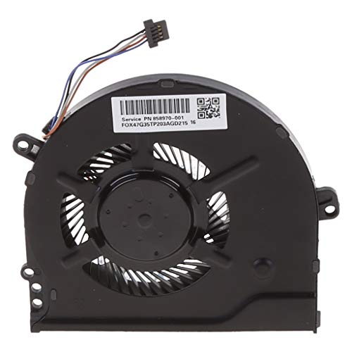 Ventilador de refrigeración de CPU reemplazado refrigerador de metal portátil para 15-CC 15-CC708tx 15-CC715TX 15-CC710TX TPN-Q191 CPU refrigeración por aire 927918-001