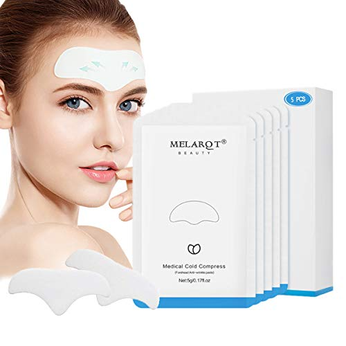 Facial Patches, Anti Aging Gesichts Anti-Falten-Patches, Anti Falten Stirn Pad, Forehead Wrinkle Patches, Faltenbehandlung glättende Falten-Patches