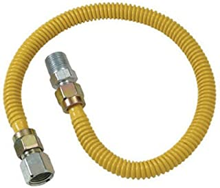 Brasscraft CSSD54-36 Dryer and Water Gas Dryer & Water Heater Flex-Line OD FIP x 1/2