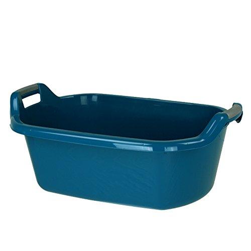 Curver Wäschewanne 55L 75x50cm Wäscheschüssel Wäschekorb Waschwanne Waschküche Schmutzwäsche