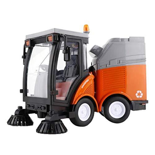 MagiDeal 1:16 Straßenkehrmaschine Diecast Toy Simulierte Inertial Kehrmaschine Fahrzeugmodell Geschenke
