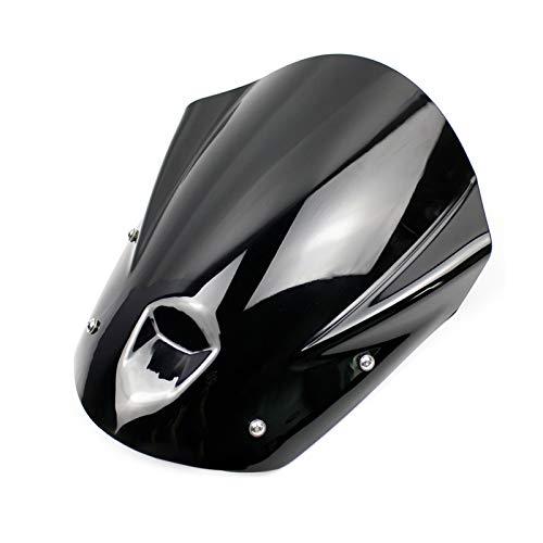 Für MT09 FZ09 Motorrad Windschutzscheibe Windschutzscheibe Flyscreen Baffle 2013-2016 MT-09 FZ-09 MT 09 FZ 09 Zubehör 2014 2015 Motorräder Windabweiser (Color : Smoke)