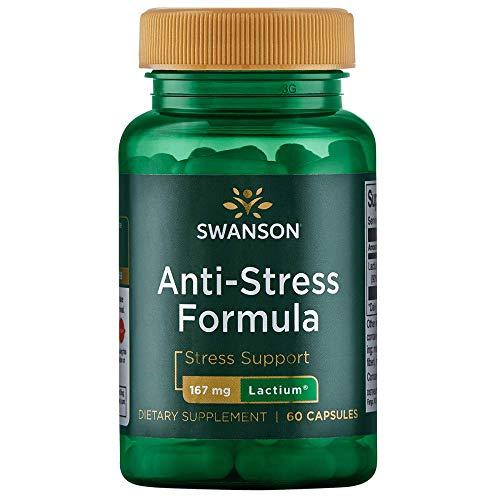 Swanson Women's Anti-Stress Formula (Lactium) 167 Milligrams 60 Capsules