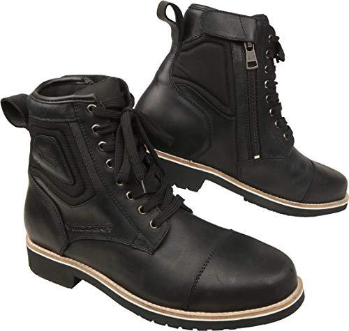 Modeka Wolter - Botas de moto, color negro, talla 43