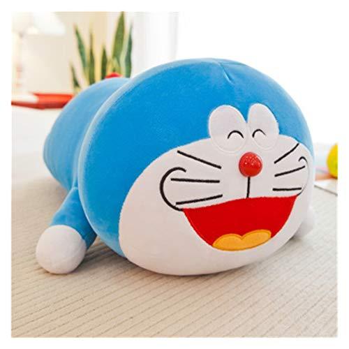 CHENPINBH Plüschtiere Netter Stand von Mir Doraemon Plüschtys Sofa Kissenfüllte Cartoon Anime Puppe Weiche Katzen Tierkissen Für Kinder (Color : 2, Height : 60cm)