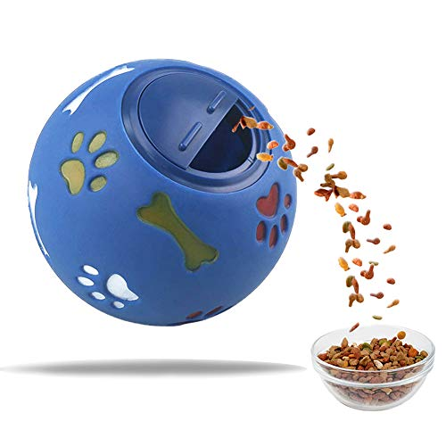 ITNP Pelota de juguete Giratorio para perros pelota de goma no tóxica resistente a las mordeduras para mascotas perros juego de ejercicio, pelota de entrenamiento IQ