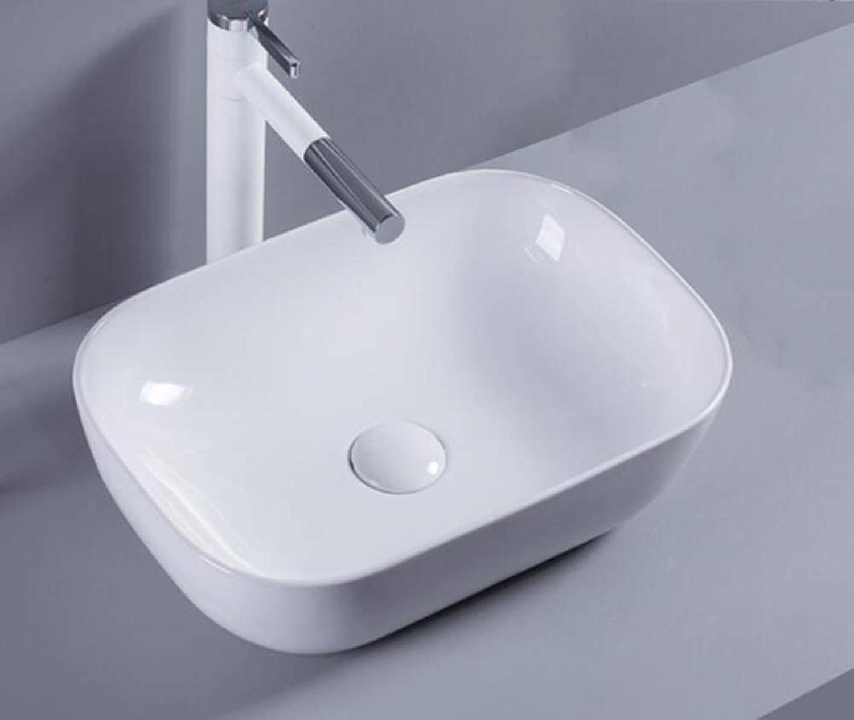 barato 1 lavabo de cerámica ovalado de 46 46 46 cm de largo x 33 cm de ancho.  todos los bienes son especiales