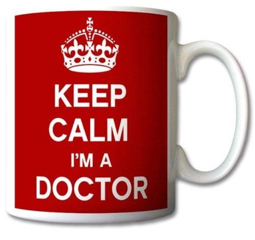 Keep Calm I'm A Doctor Mug Cup Gif