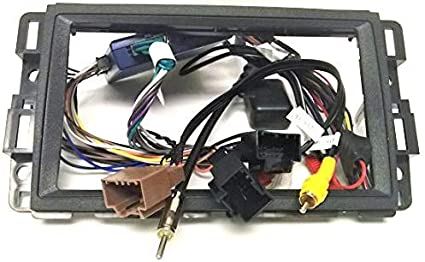 Amazon Com Dash Kit And Wire Harness For Installing A New Double Din Radio Into A Buick Enclave 08 09 10 11 12 Lucerne 2006 2007 2008 2009 2010 2011 Car Electronics