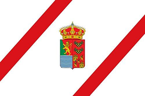 magFlags Bandera Large Municipio de Frandovínez Castilla y León | Bandera Paisaje | 1.35m² | 90x150cm