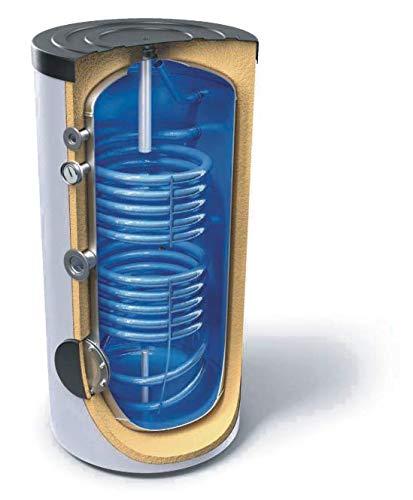 Accumulo Acqua Calda Sanitaria 300 L Doppio Serpentino Solare Termico Caldaia