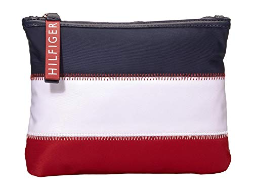 Tommy Hilfiger Corporate Flat Pouch Navy/Multi One Size