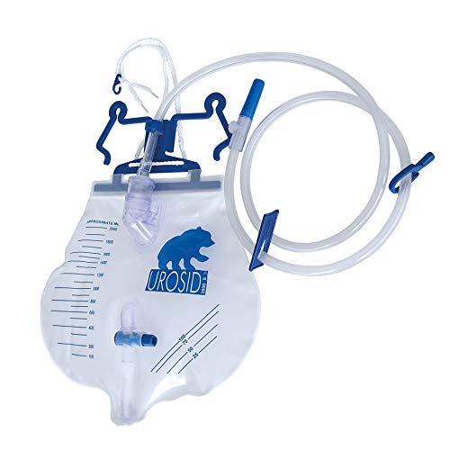 UROSID® 2000 S Urindrainagesystem, Urinbeutel, 120 cm Schlauch, Volumen: 2 Liter, 25 Stück