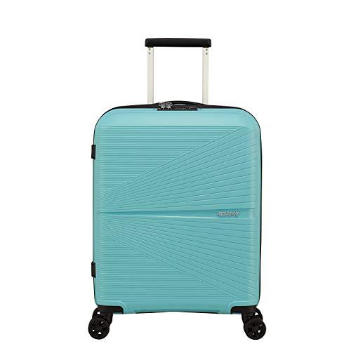 American Tourister - Maleta de Cabina (4 Ruedas, 55 cm), Purist Blue (Turquesa) - 128186-8397