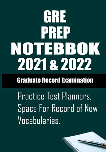 GRE pre notebook2021 & 2022: it is just a notebook for student .