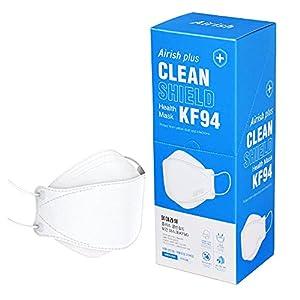 MEDIK 高密度4層構造フィルターKF94マスク Airish Plus 20枚 使い捨て 不織布 立体3Dマスク PM2.5 飛沫 花粉 MCH-KF94-P20