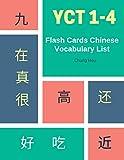 YCT 1-4 Flash Cards Chinese Vocabulary List: Practice Mandarin Chinese YCT full 600 vocab flashcards level...