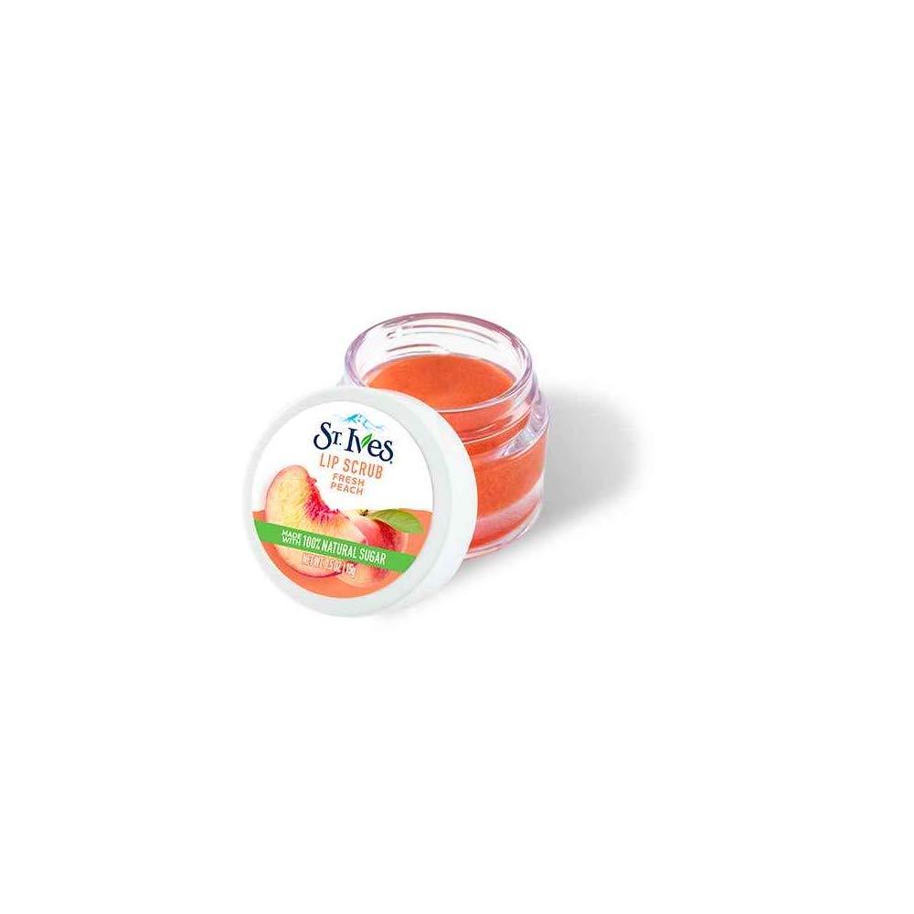 St. Max 76% OFF Ives Fresh Peach oz Scrub 0.5 Lip 4 years warranty