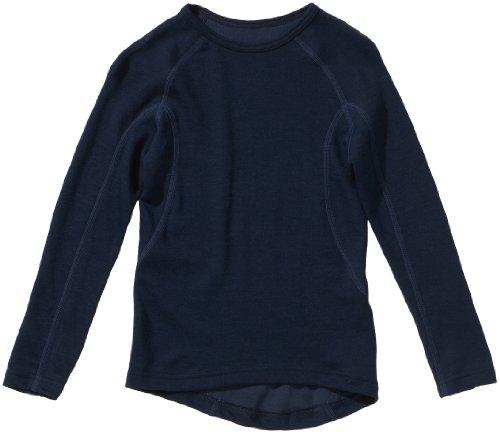 Schiesser Jungen Shirt 1/1 Unterhemd, Blau (803-dunkelblau ), 152 EU