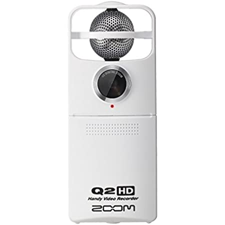 ZOOM ストリーミング機能搭載ハンディレコーダー シルバー Q2HD