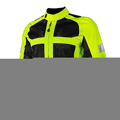 Chaqueta Moto Hombre con Armadura Motocicleta Cordura CertificacióN CE Chaqueta Reflectante Chaqueta Reflectante Traje de Moto para Hombre A,XXL