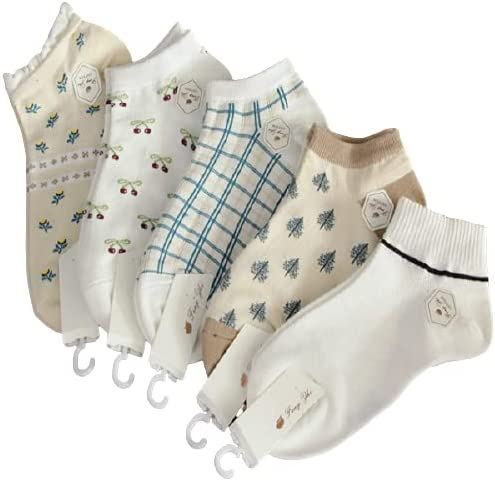 5 pairs of Pure cotton Breathable Sock No.10001