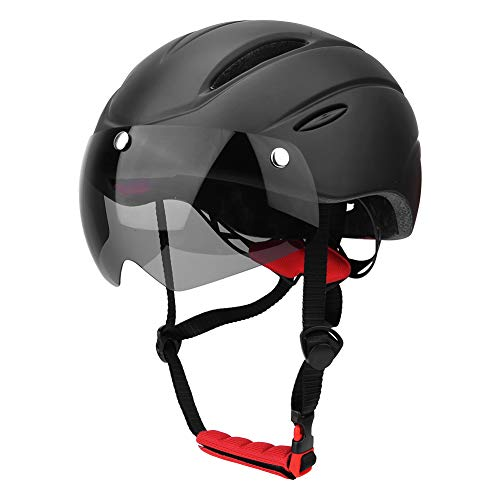 Mountain Bike Helmet with Magnetic Visor Accessory for Outdoor Cycling Sport