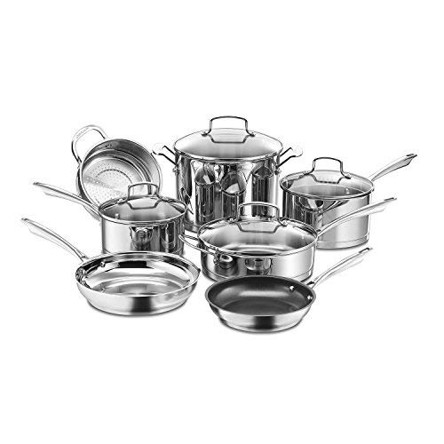 Cuisinart 11Piece Professional Stainless Cookware Set