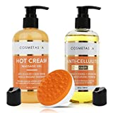 Best Cellulite Gel Creams - Anti Cellulite Treatment Kit- Massage Oil, Hot Cream Review