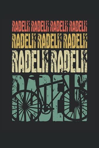 Fahrrad Retro Bike Notizbuch (liniert) Mountainbike Fahrradfahrer
