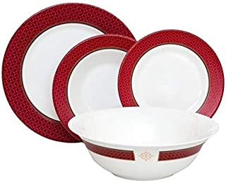 Luminarc Dinnerware Set Alto Rubis 19-Piece for 6 Persons