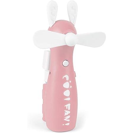 Hui Jin Mini ventilateur de refroidissement portable avec vaporisateur d'eau pour voyage/camping/extérieur