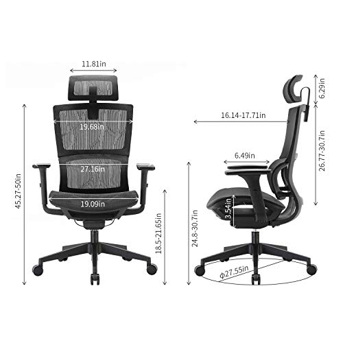 XUER Ergonomic Office Chair with...