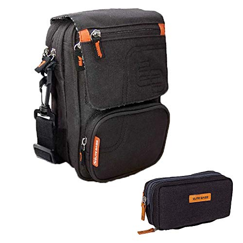 Pack estuche y bandolera para diabéticos, Estuche isotérmico negro Diabetic's, Bandolera isotérmica negra FIT'S, Elite Bags ✅