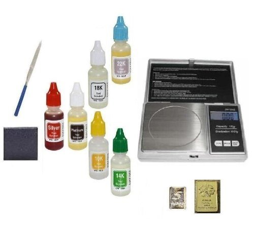 Personal Scrap Jewelry Organizer Test Kit with Digital...