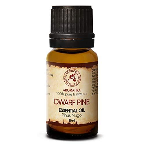 Olio Essenziale di Pino Mugo 10ml - Pinus Mugo - Austria - 100% Puro & Naturale - per Bagno - Sauna - Aromaterapia - Dwarf Pine Essential Oil