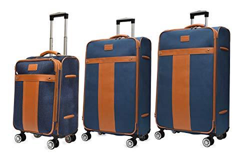 Adrienne Vittadini Carry-On, Expandable Suitcase Luggage Set 3 (pc)