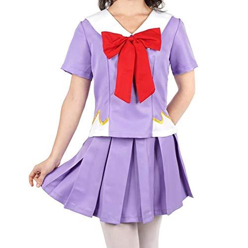SHIXUE Mirai Nikki Cosplay Kostüm Kleid Anime Kostüm Anzug Party Kostüm Für Erwachsene Einschließlich Kleidung Und Röcke,M