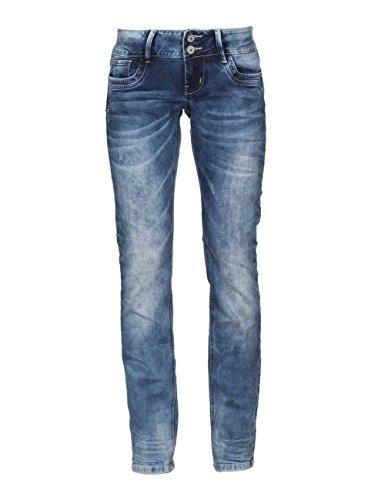 M.O.D Larissa Jeans a Taglio Dritto, Blau (Fall Blue 1368), 32W x 32L Donna