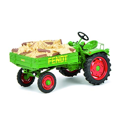 Schuco Fendt Geräteträger GT, Traktor, Landmaschine, mit Ladegut, Modell, Miniatur, 1:43, 450258600