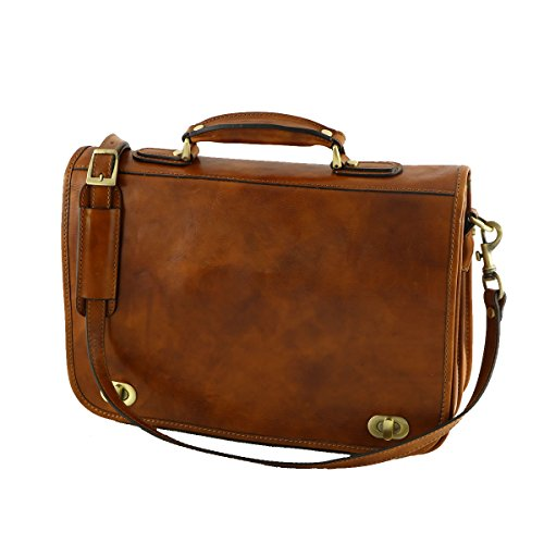 Mega Tuscany - 4002 Miele - Tasche aus echtem Leder