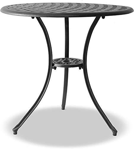 Homeology OSHOWA Garden & Patio Cast Aluminium Bistro Table