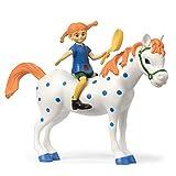 Micki & Friends 44379500 Pippi Langstrumpf Spielfiguren - Puppen - Puppenhaus-Zubehör - 3-teilig:...