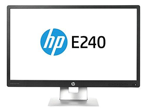 HP M1N99A8#ABA EliteDisplay E240 23.8'' 1080p Full HD LED-Backlit LCD Monitor, Black/Silver