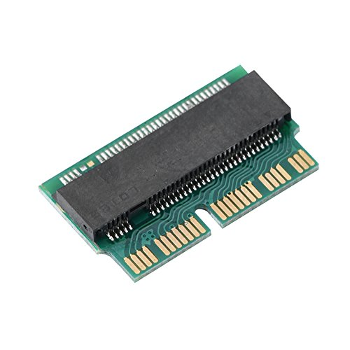 Eboxer da SSD a M.2 NGFF Convert Adapter Scheda di interfaccia Supporto 22 * 80 mm Dimensioni di M.2 NGFF PCIe x4 AHCI SSD per 2013 2014 2015 MacBook Air PRO SSD M-2 Scheda Adattatore NGFF