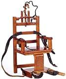 Melody Jane Puppenhaus Miniatur Prison Gefängnis Möbel elektrische Stuhl altes Sparky