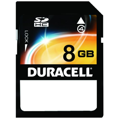 of duracell micro sd cards Duracell DU-SD-8192-C 8GB Clamshell Secure Digital Card